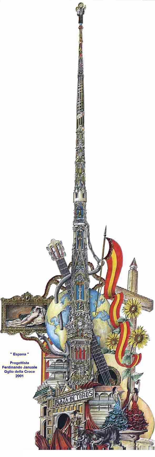 Festa dei Gigli di Brusciano - Giglio della Croce 2001